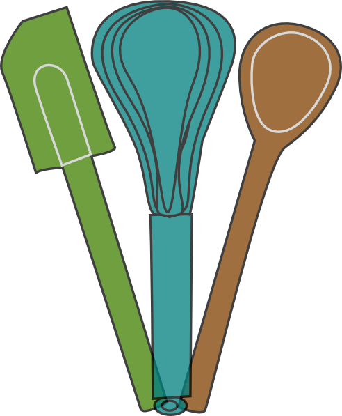 graphic library Utensil free on dumielauxepices. Baking clipart.