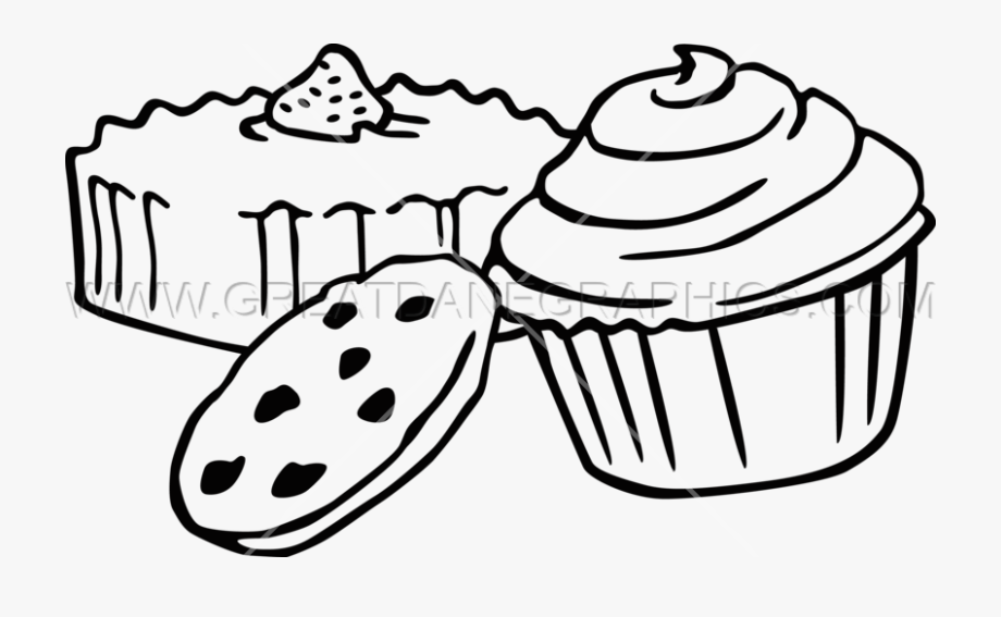 transparent Baking drawing baked goods. Baker bakery item free