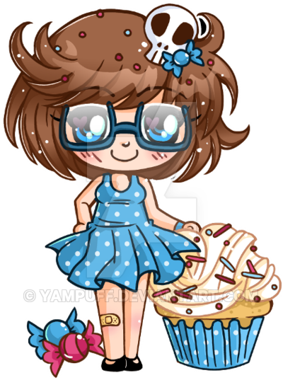 clipart library download Baking drawing chibi. Little micro commission by
