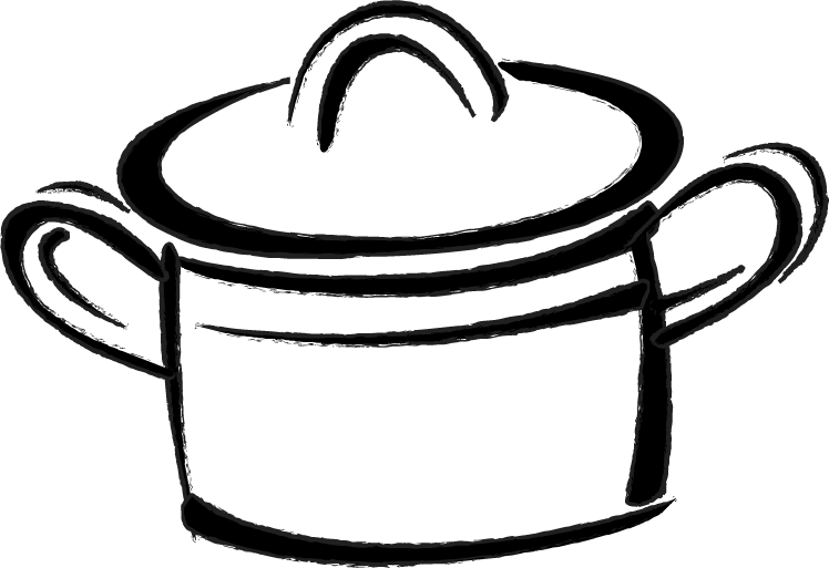 clipart freeuse library Baking drawing easy. Cooking pot at getdrawings