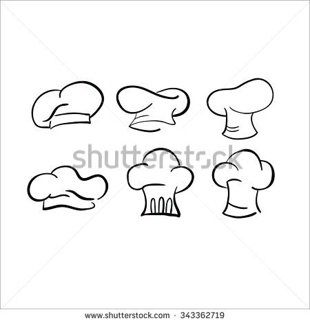 png free Baking drawing hat. Chef sketch vector cap