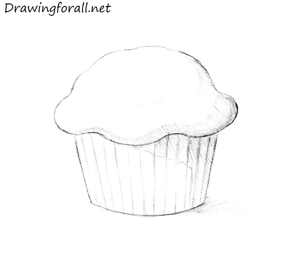 transparent How to draw a. Baking drawing step by