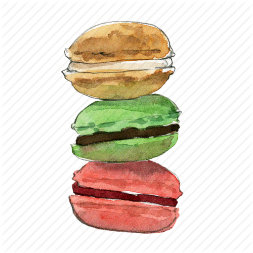 graphic free download  macaroon for free. Baking drawing still life