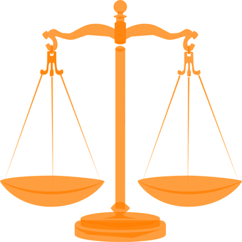 svg transparent library Injustice power free on. Balance clipart
