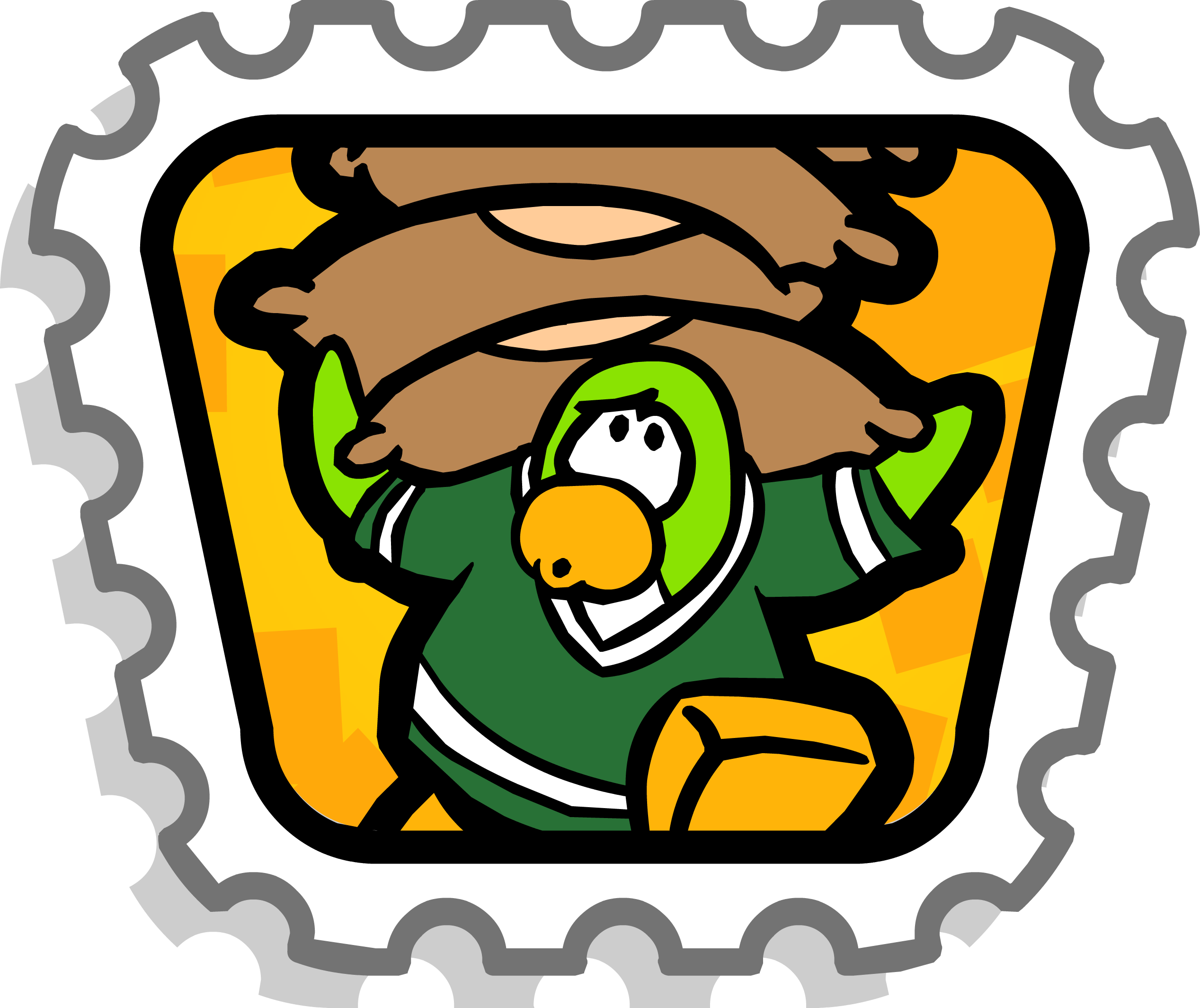 png library stock Stamp club penguin wiki. Balance clipart bean bag.