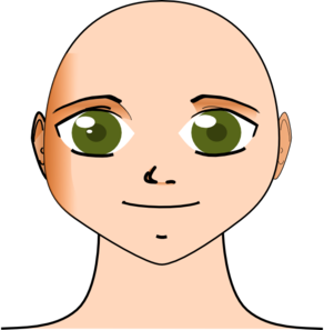 svg free download Bald clipart. Head