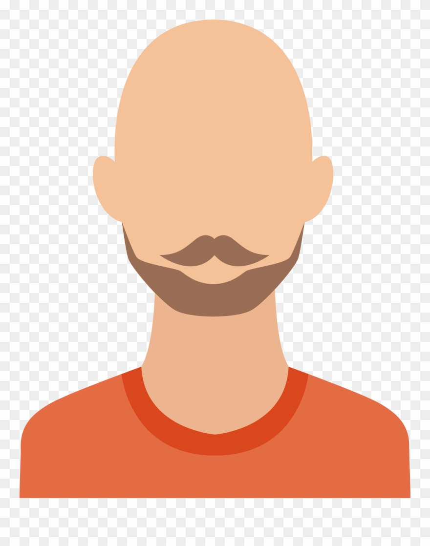 picture transparent download Bald clipart. Angry man hair loss