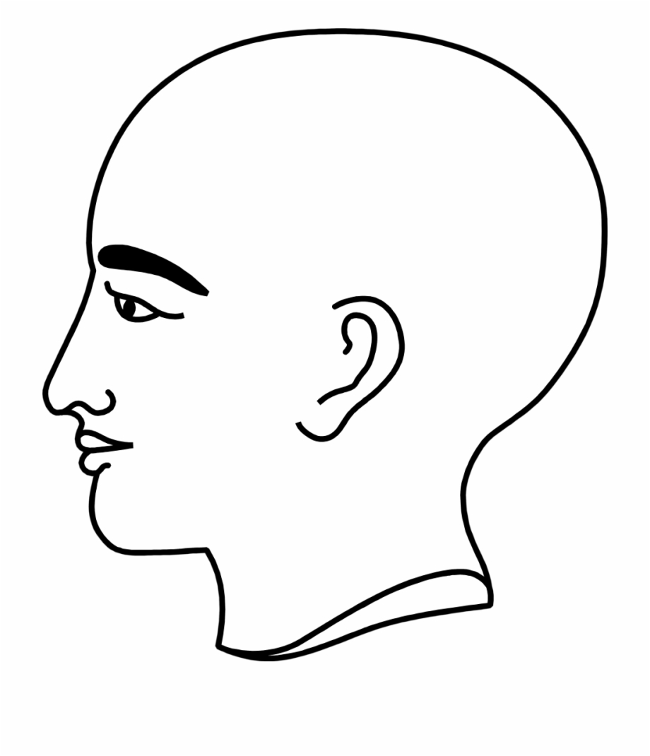 jpg library stock Bald clipart. Bold man person s
