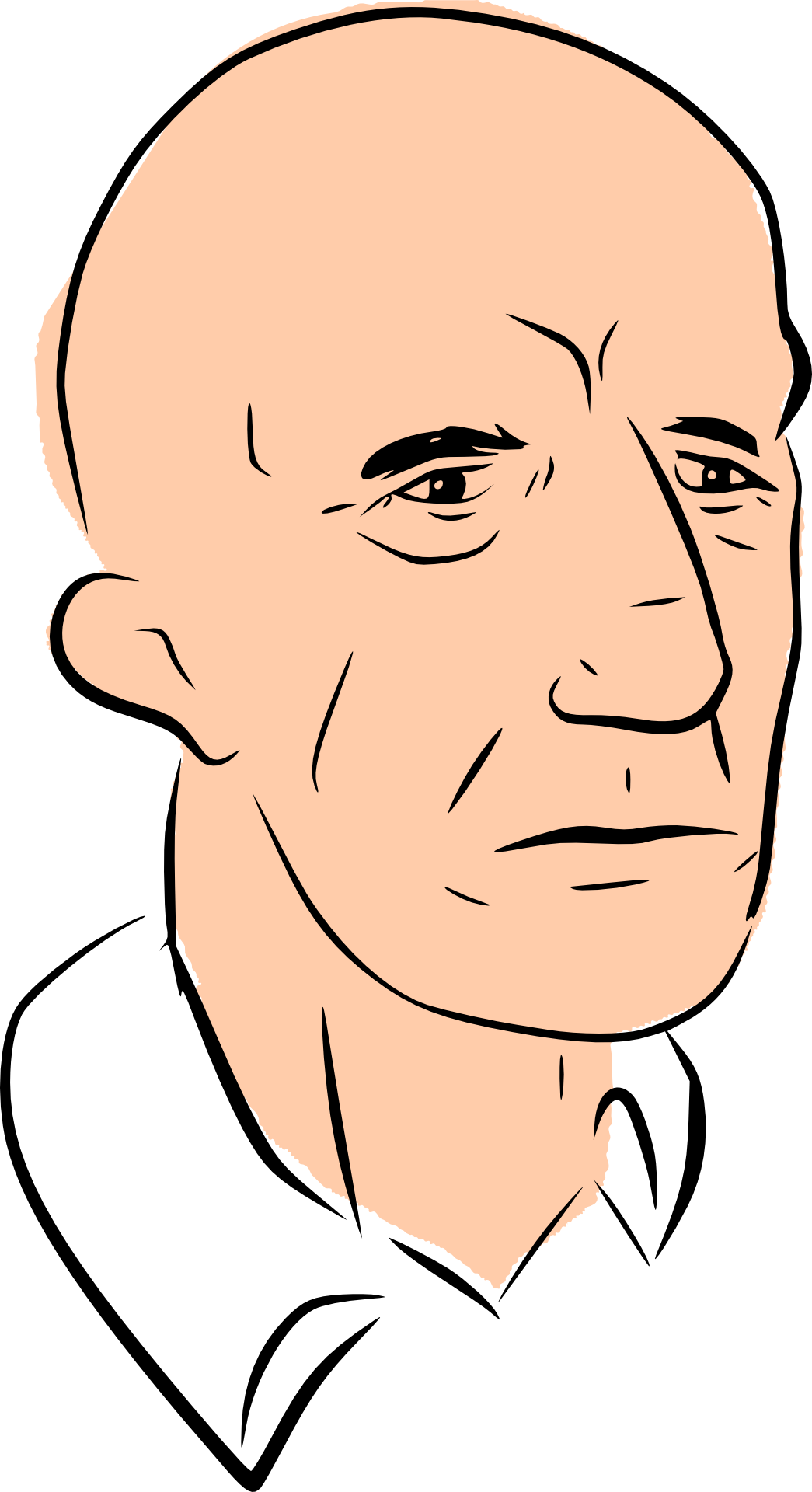 png library stock Bald clipart bald head. Make free image .
