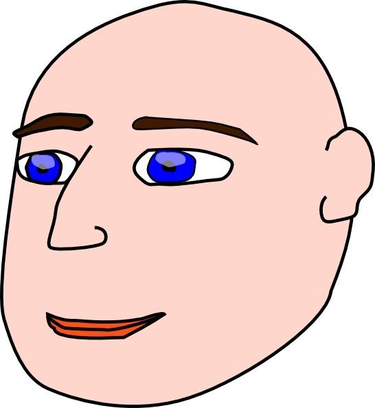 clipart royalty free library Bald clipart bald head. Man clip art free.