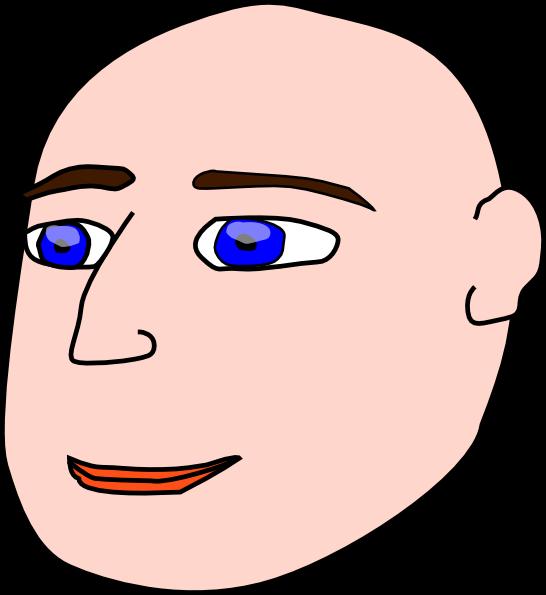 png library Man clip art at. Bald clipart bald head.