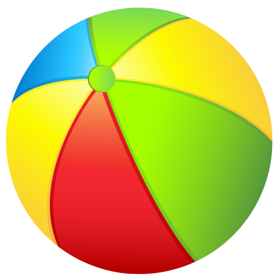 png freeuse Beach Ball Clipart