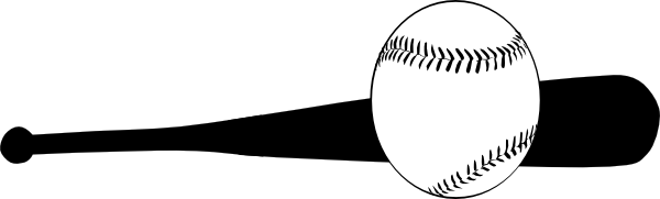 clipart library library Baseball bat hitting ball. Balls clipart rounders