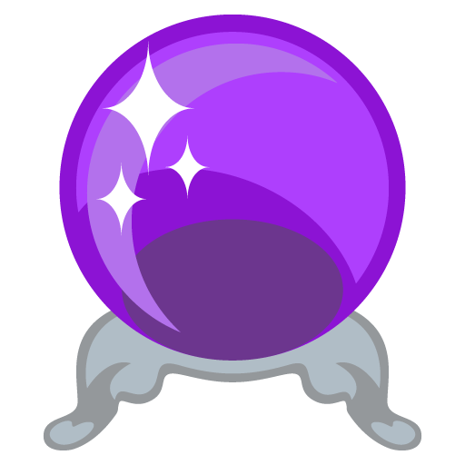 clip transparent download Ball clipart fortune teller. Joyous crystal icon cilpart.