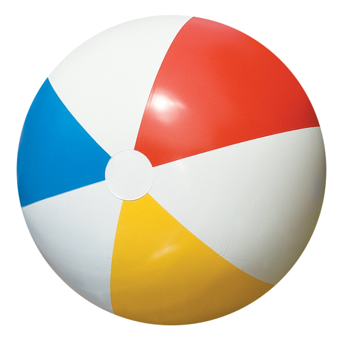 banner royalty free stock Beach Ball PNG Transparent Image