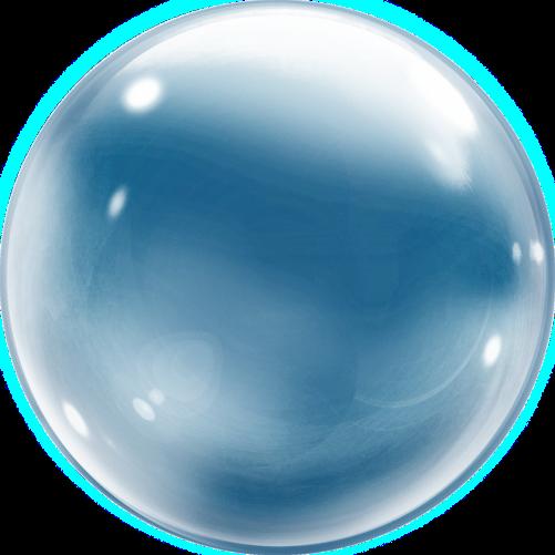 banner stock Vector bubble clear. Deco balloon pc
