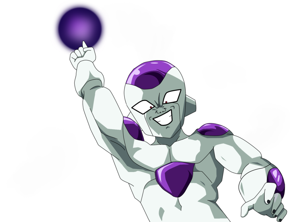 clip transparent download Frieza transparent background. Death ball v by
