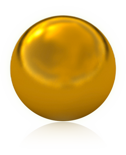 graphic free download Gold ball png