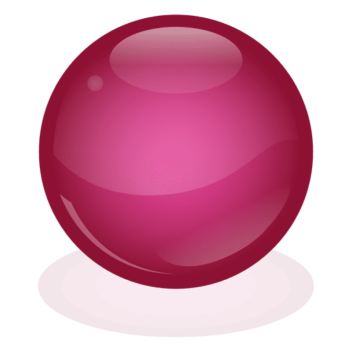 clip art transparent Red marble ball