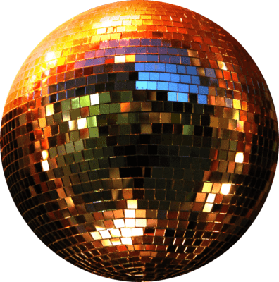 stock Copper gold disco png. Ball transparent sphere