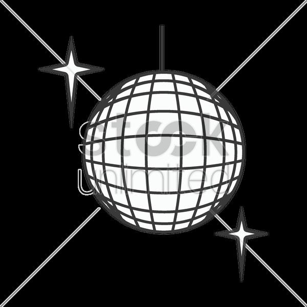jpg transparent download Disco Ball Drawing at GetDrawings