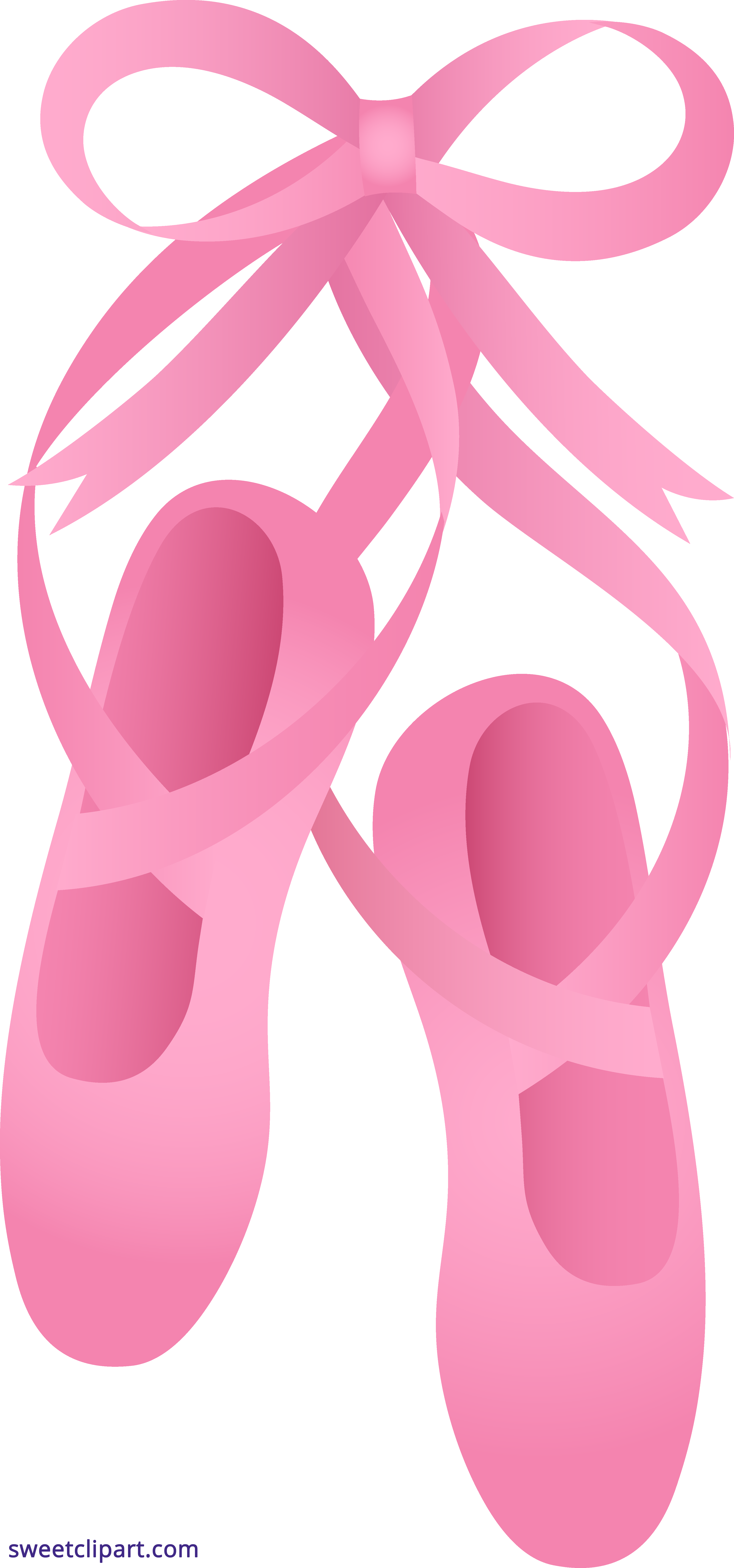 jpg library library Ballet clipart. Pink slippers sweet clip