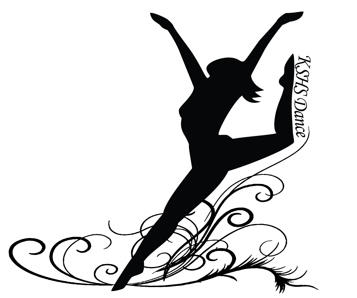 picture royalty free library Drawing silhouette printable. Ballerina at getdrawings com