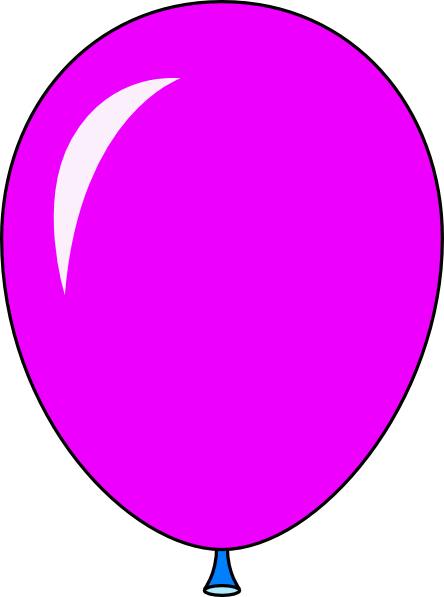 image download Light purple balloon . Ballon clipart