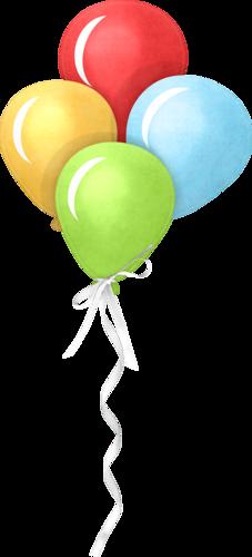 picture royalty free Big top happy birthday. Ballon clipart birhday.