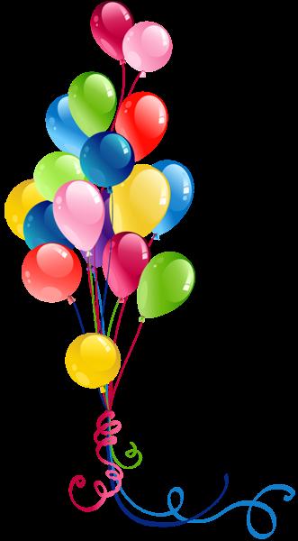 vector free Ballon clipart birhday. Transparent bunch balloons pinterest.