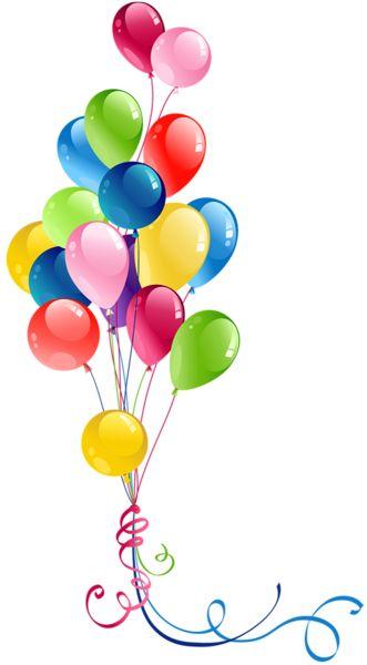 clip art royalty free Ballon clipart birhday. Free birthday balloons cliparts.