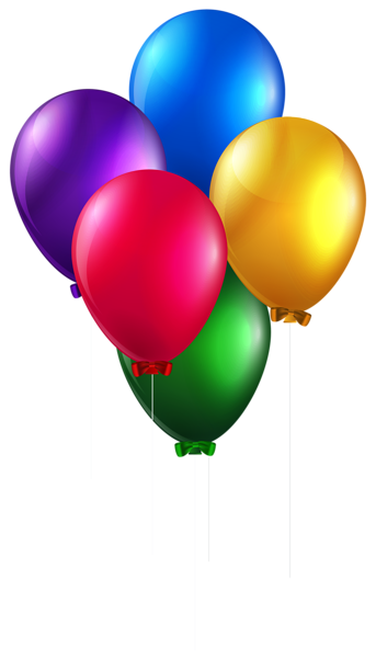 picture transparent Vector balloon party. Colorful balloons png clip