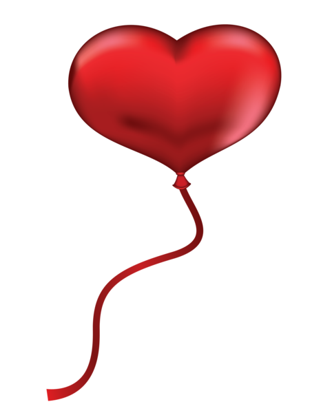 picture free stock Red Heart Balloon PNG Clipart Picture