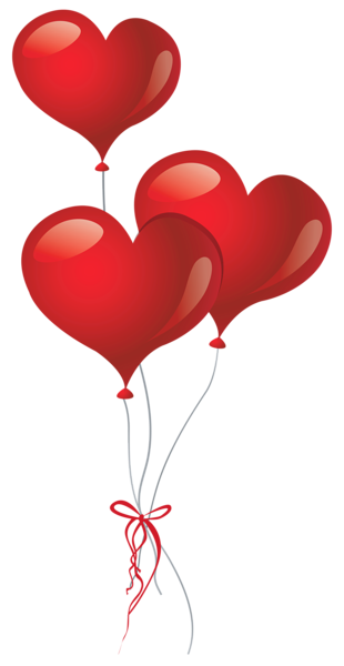 png royalty free download Happy birthday balloons clipart. Heart png picture pinterest
