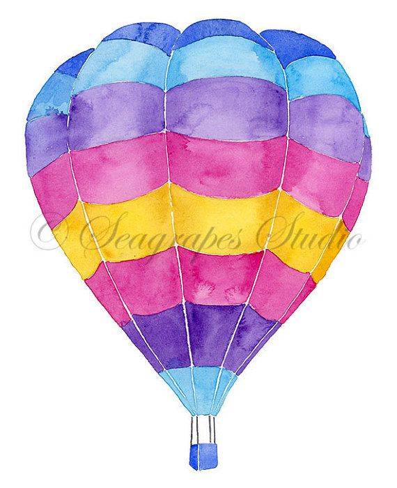picture black and white Pin on . Ballon clipart individual balloon