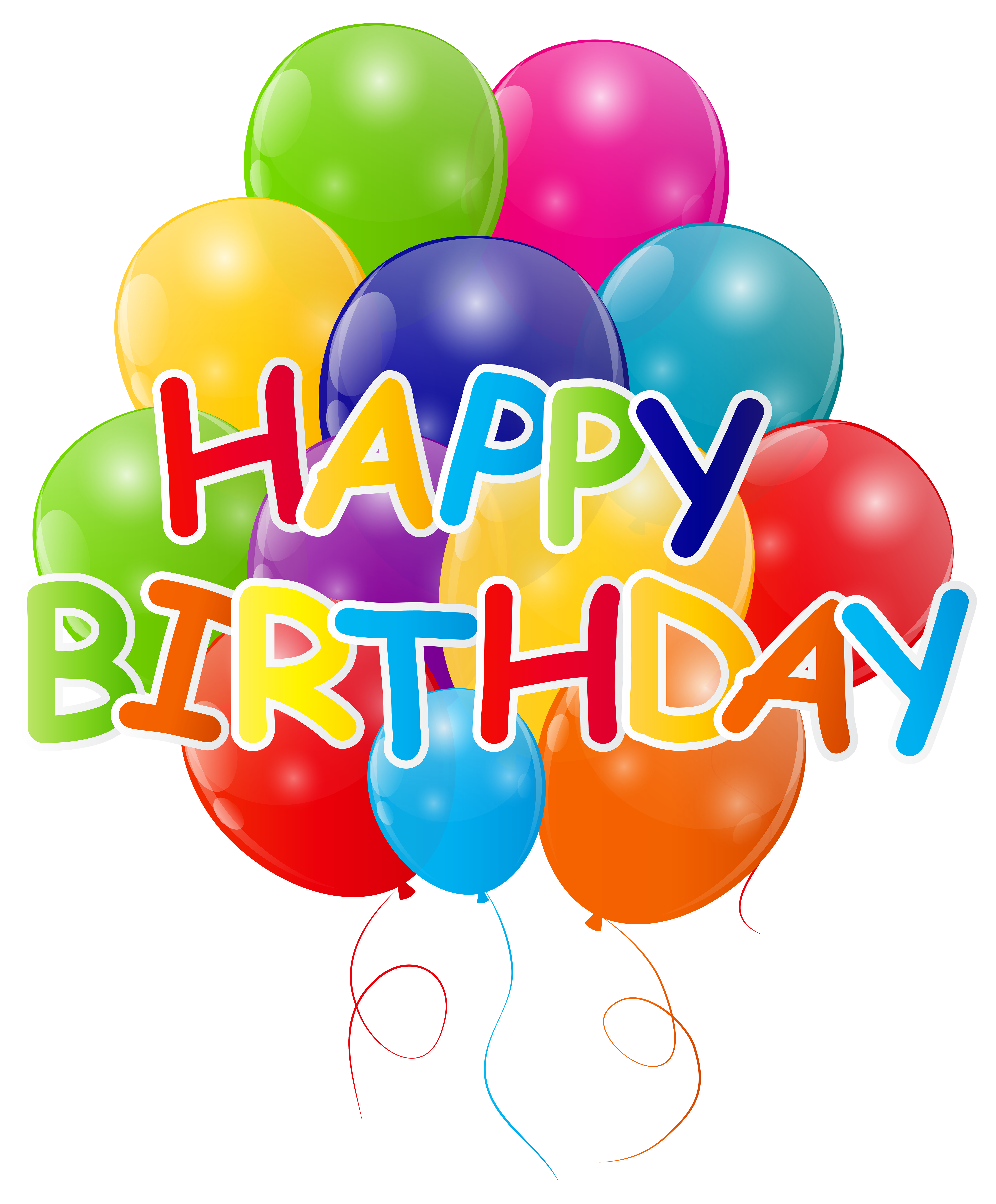 graphic transparent stock Ballons free on dumielauxepices. Happy birthday balloons clipart