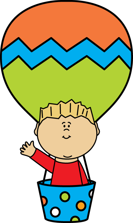 image library download Air Balloon Boy Clipart