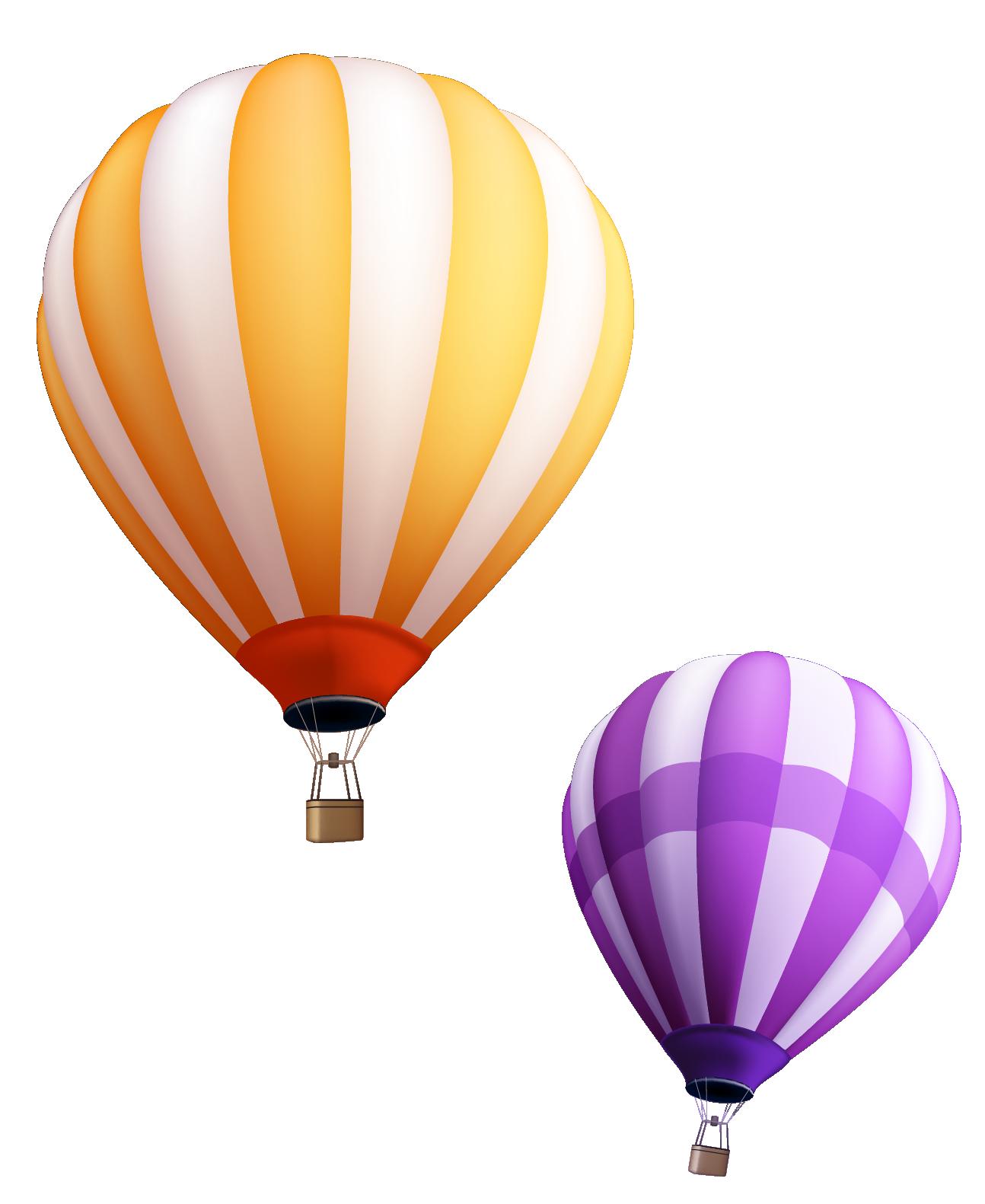 clip art stock Ballon vector. Hot air balloon material.