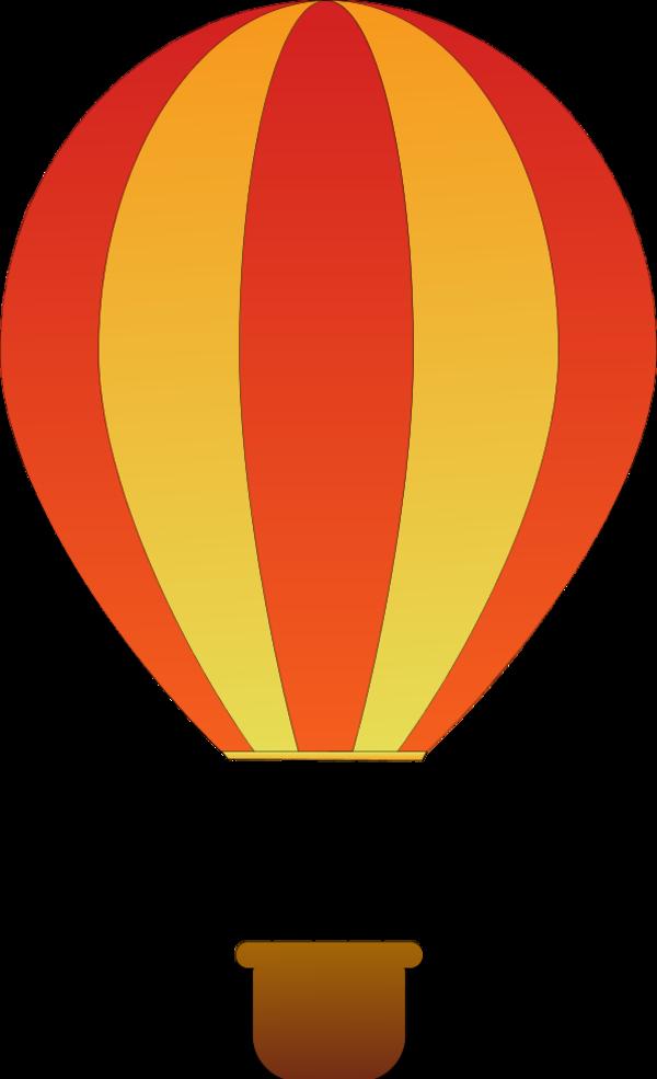 clipart free download Free hot air balloon. Ballon vector.