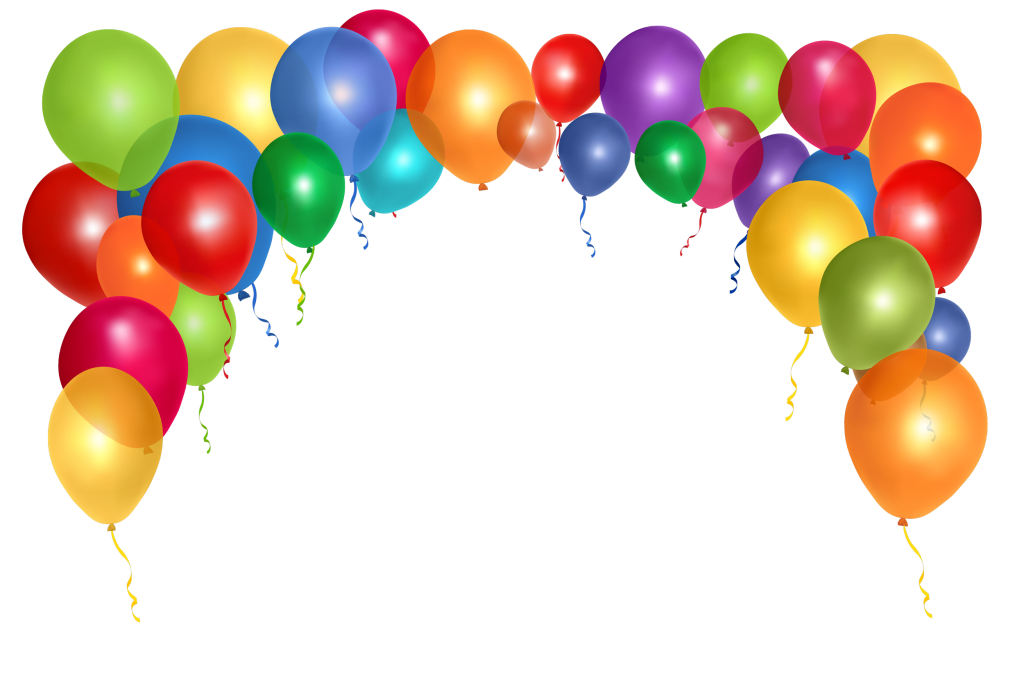 vector stock Balloons png free download. Vector balloon party