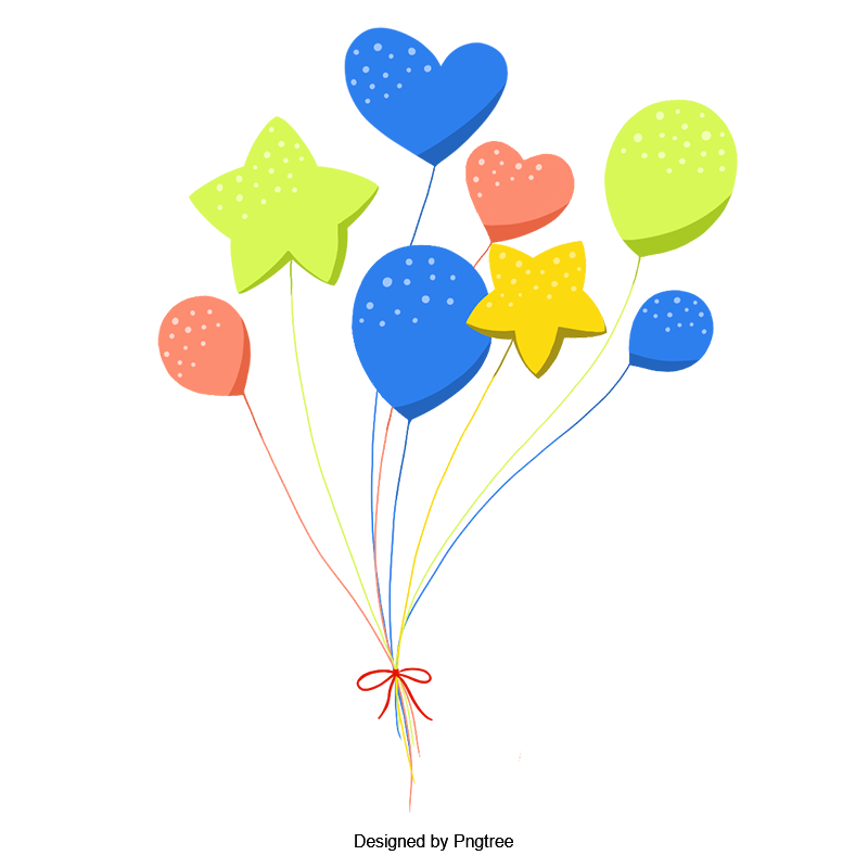 png freeuse Colorful balloons festival celebrate. Vector balloon celebration