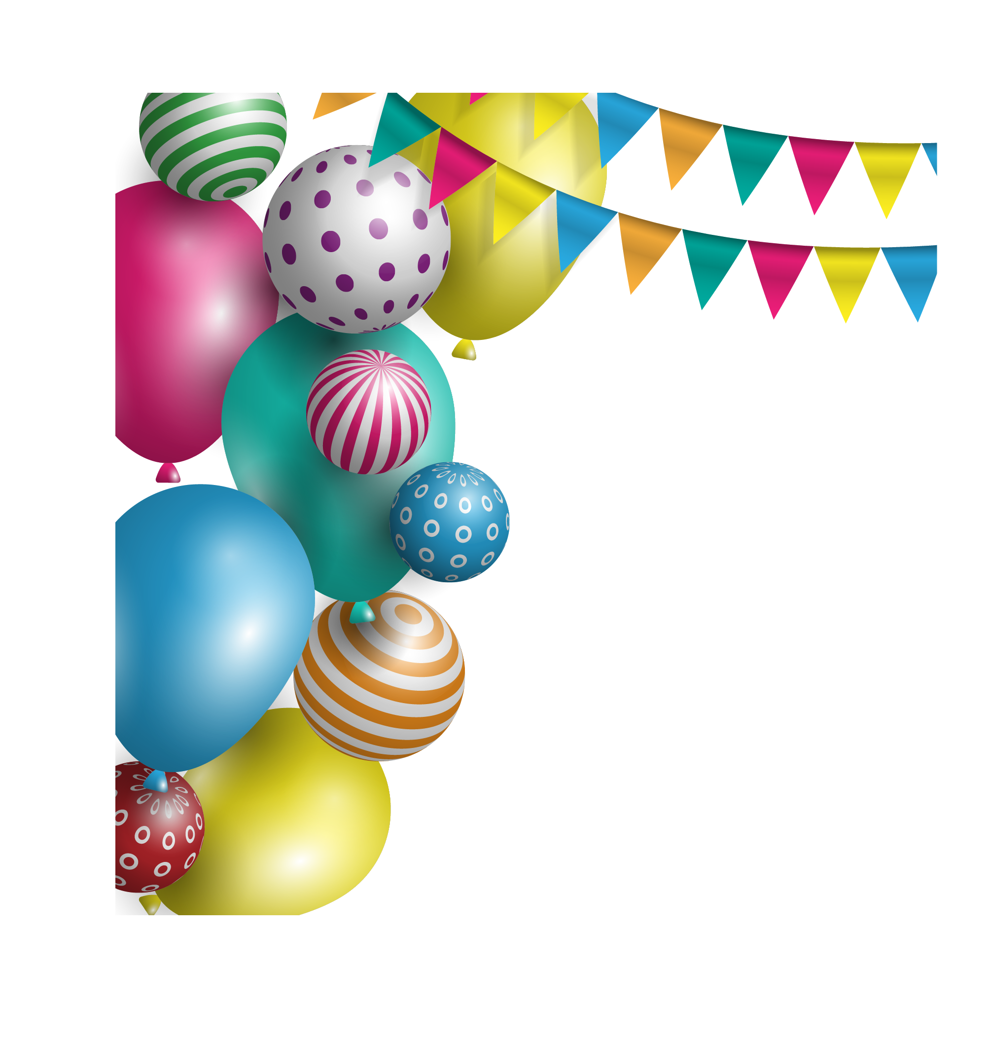 clipart freeuse Balloon Party Birthday Holiday