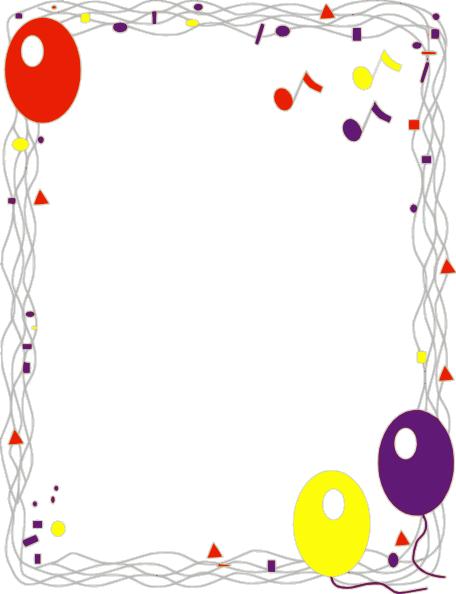 banner royalty free library Balloon border clip art. Baloon vector gambar
