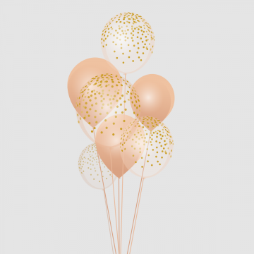 png freeuse library Gold Balloon Png