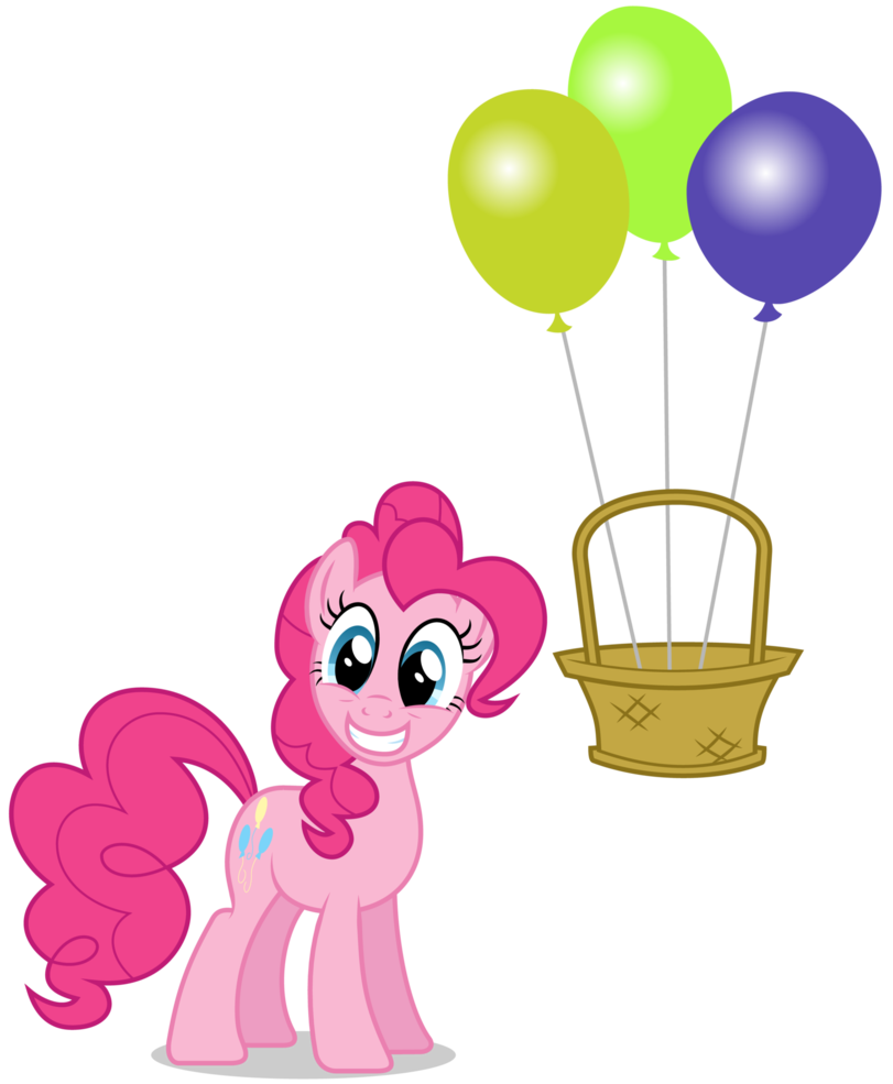 image transparent stock Balloons in my basket. Vector balloon illustrator