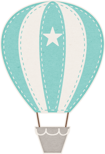 clipart royalty free library A boys life baloony. Parachute vector balloon