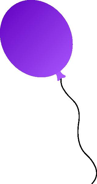 clip art royalty free download Clip art at clker. Vector balloon purple