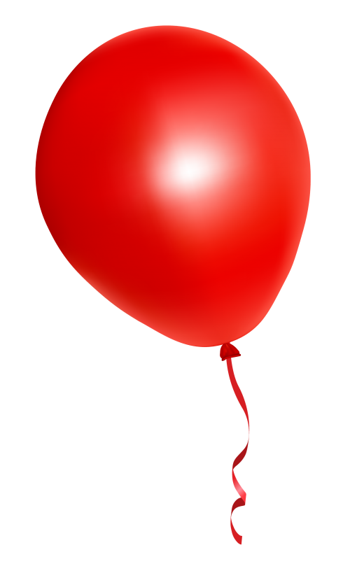 library  png for free. Vector balloon red