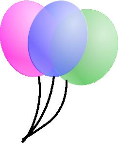 jpg freeuse library Balloons clip art at. Vector balloon animation
