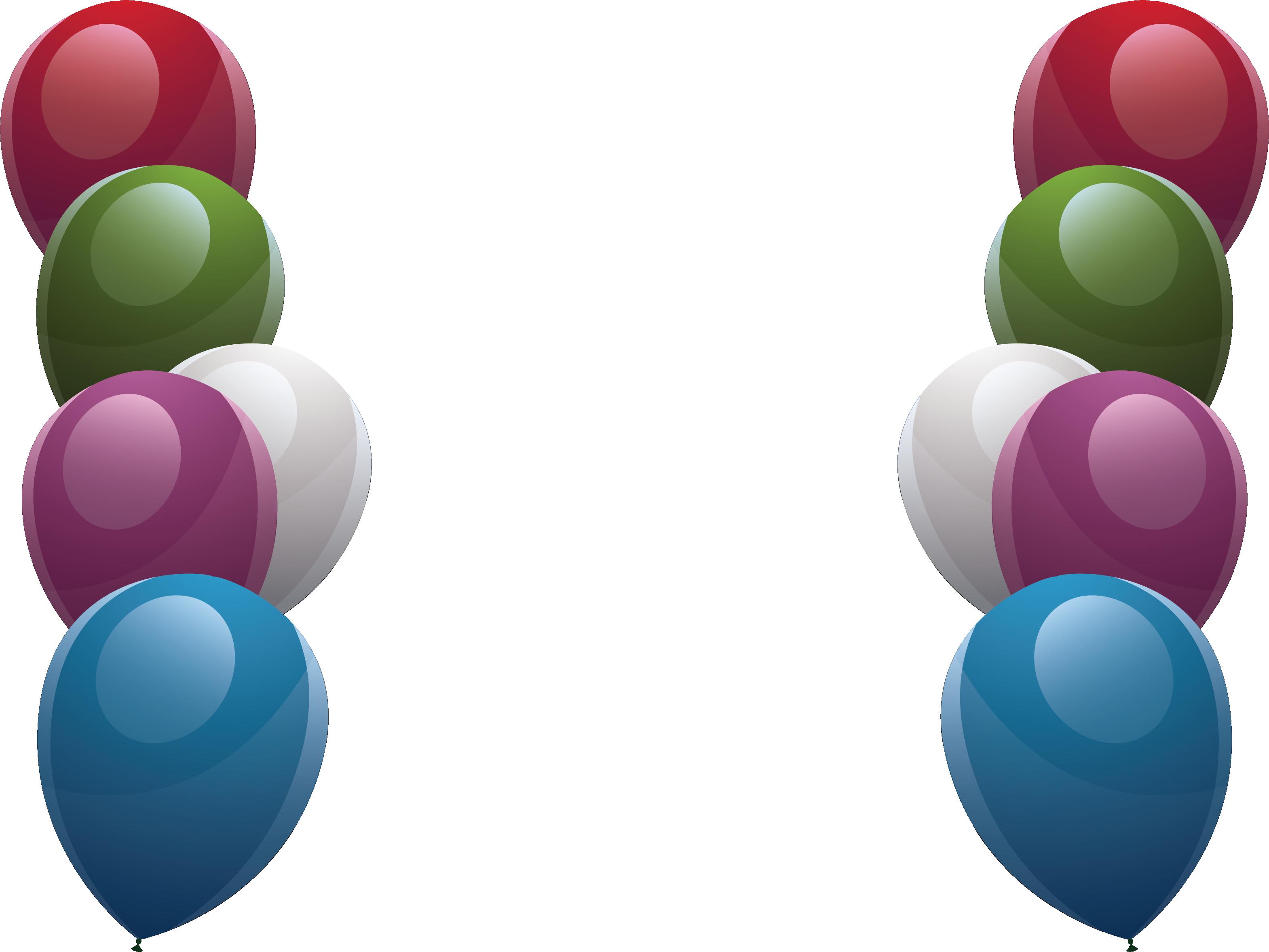 vector royalty free stock Designer fine color transprent. Balloon borders clipart.